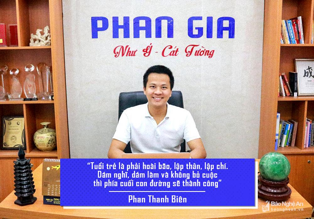 Báo Nghệ An viết về Doanh nhân Phan Thanh Biên - Giám đốc Phong thủy Phan Gia