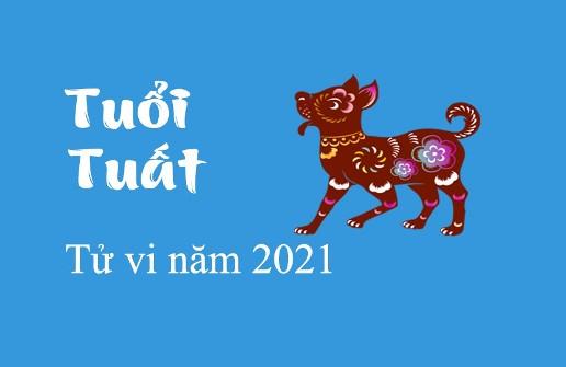 TỬ VI TUỔI TUẤT NĂM 2021