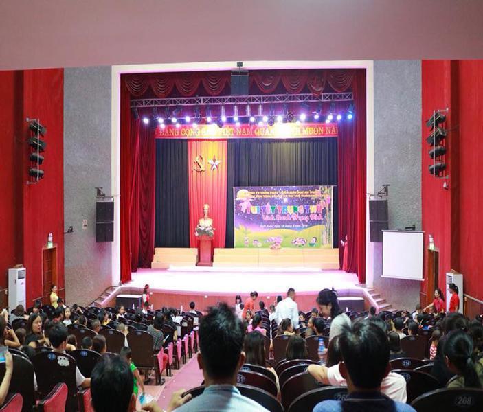 Phan Gia tài trợ đêm hội trăng rằm cho trẻ em tại Huyện Nghi Xuân Hà Tĩnh