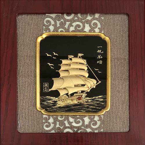 Tranh Vàng Thuận Buồm Xuôi Gió