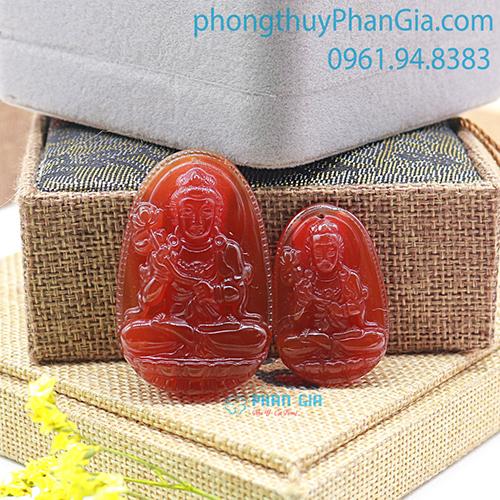 Phật Bản Mệnh Đại Thế Chí Bồ Tát Mã Não Đỏ Dành Cho Tuổi Ngọ