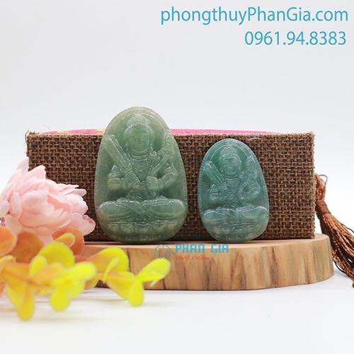 Mặt Phật Bản Mệnh Hư Không Tạng Bồ Tát Ngọc Dành Cho Tuổi Sửu,Dần