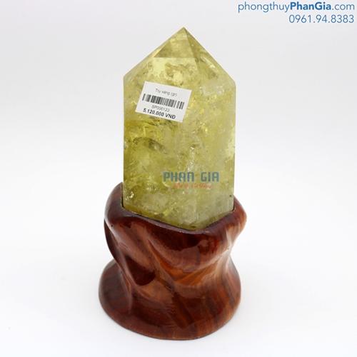 Trụ Đá Thạch Anh Vàng - 1400g