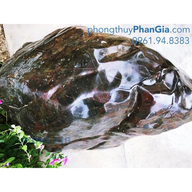 Đá Trấn Trạch Canxedon Nâu Đỏ - 450 Kg