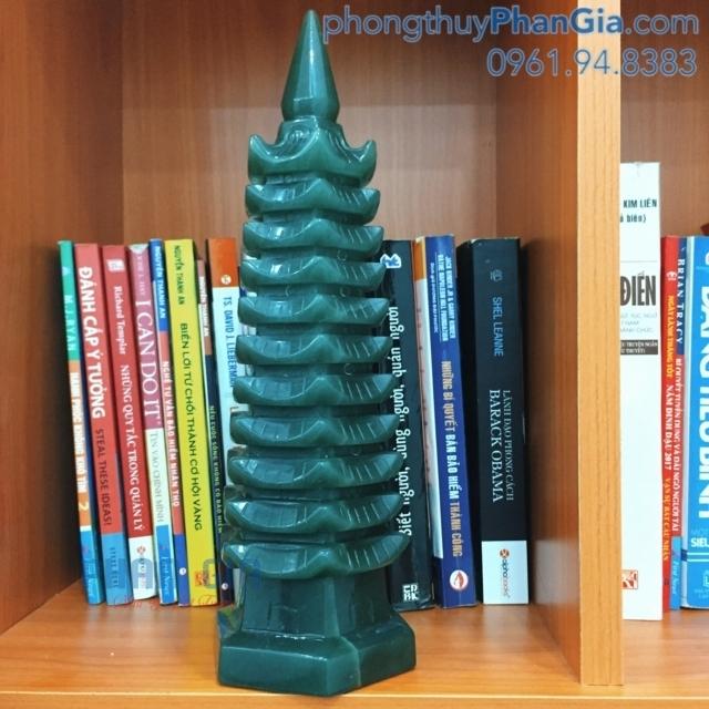 Tháp Văn Xương Đá Thạch Anh Xanh - 1 Kg