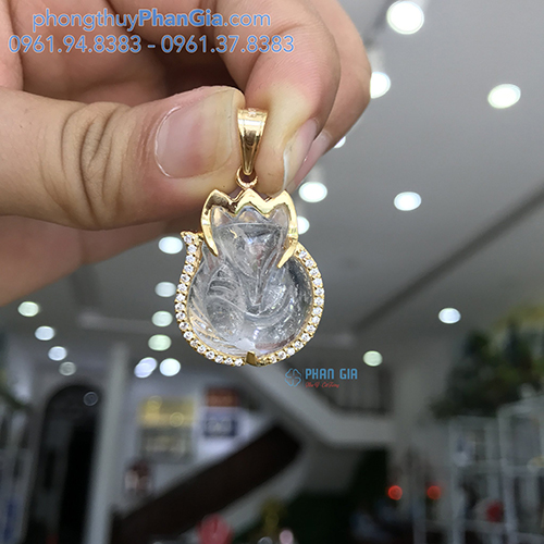 MẶT DÂY HỒ LY THẠCH ANH TRẮNG