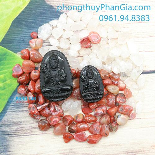 Phật Bản Mệnh Đại Thế Chí Bồ Tát Đá Obsidian Dành Cho Tuổi Ngọ