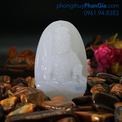 Mặt Phật Bất Động Minh Vương Ngọc Tân Cương
