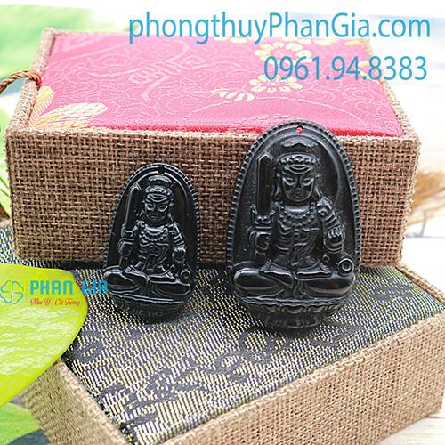 Phật Bản Mệnh Bất Động Minh Vương Đá Obsidian Dành Cho Tuổi Dậu