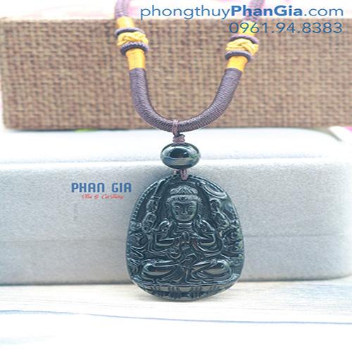 PBM Thiên Thủ Thiên Nhãn Bồ Tát đá Obsidian To